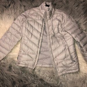 north face grey jacket